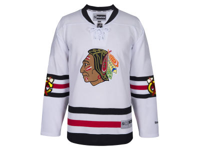 Chicago Blackhawks Reebok 2017 NHL Men's Premier Winter Classic Jersey