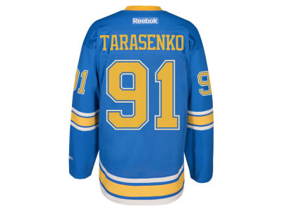St. Louis Blues Vladimir Tarasenko Reebok 2017 NHL Men's Premier Player Winter Classic Jersey