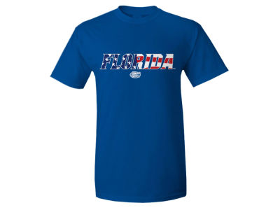 Florida Gators NCAA Men's Logo Flag T-Shirt