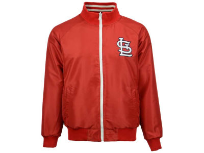 St. Louis Cardinals MLB Men's Revolution Full Zip Track Jacket