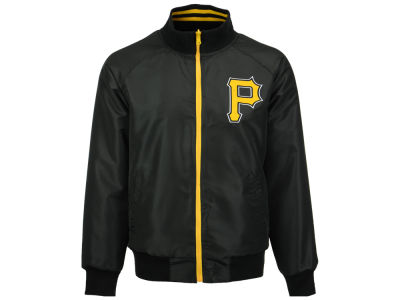 Pittsburgh Pirates MLB Men's Revolution Full Zip Track Jacket