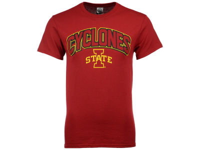 Iowa State Cyclones NCAA Men's Arch Tech Fill T-Shirt