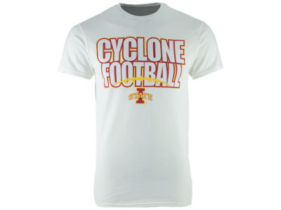 Iowa State Cyclones NCAA Men's Straight Stack Logo T-Shirt