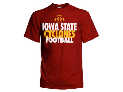 Iowa State Cyclones 2 for $28 NCAA Men's Straight Football T-Shirt