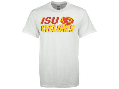 Iowa State Cyclones NCAA Men's Letters Logo T-Shirt
