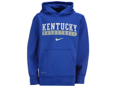 Kentucky Wildcats Nike NCAA Youth Primary Logo Knock Out Hoodie