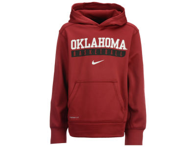 Oklahoma Sooners Nike NCAA Youth Primary Logo Knock Out Hoodie