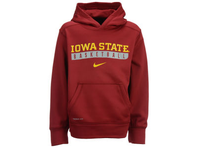 Iowa State Cyclones Nike NCAA Youth Primary Logo Knock Out Hoodie