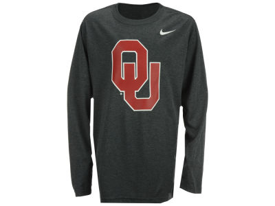 Oklahoma Sooners NCAA Youth Logo Legend Long Sleeve T-Shirt