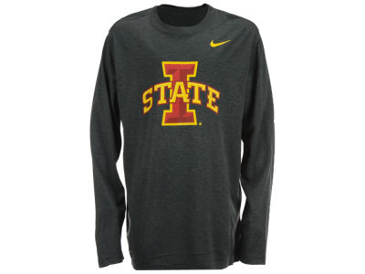 Iowa State Cyclones Nike NCAA Youth Logo Legend Long Sleeve T-Shirt