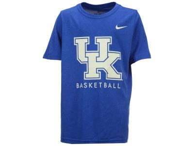 brand new 069d1 a933b Kentucky Wildcats Nike NCAA Youth Basketball Legend Logo T-Shirt