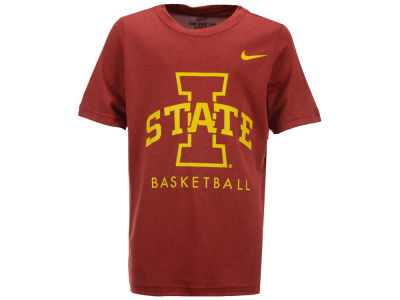 Iowa State Cyclones NCAA Youth Basketball Legend Logo T-Shirt