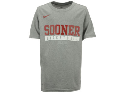Oklahoma Sooners Nike NCAA Youth Basketball Legend Practice T-Shirt