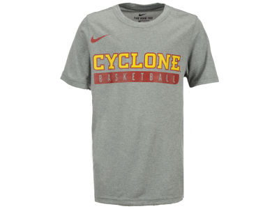 Iowa State Cyclones Nike NCAA Youth Basketball Legend Practice T-Shirt