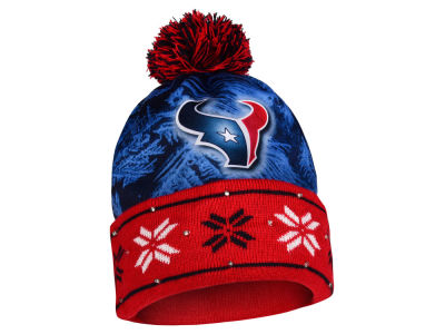 Houston Texans Light Up Ugly Sweater Knit