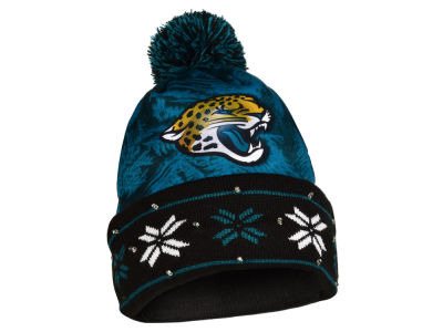 Jacksonville Jaguars Light Up Ugly Sweater Knit