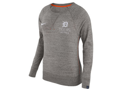 Detroit Tigers Nike MLB Women's Vintage Crew Long Sleeve T-Shirt