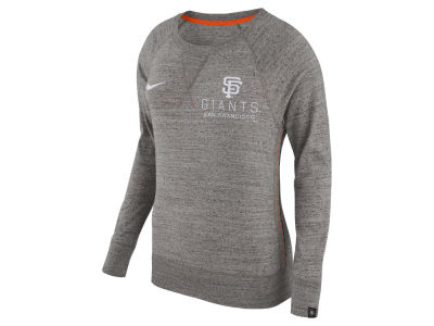 San Francisco Giants Nike MLB Women's Vintage Crew Long Sleeve T-Shirt