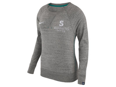 Seattle Mariners Nike MLB Women's Vintage Crew Long Sleeve T-Shirt