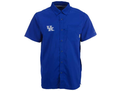 Kentucky Wildcats Columbia NCAA Men's SlackTide Camp Shirt