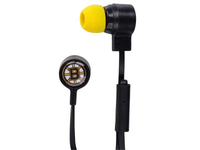 Boston Bruins Big Logo Earbuds