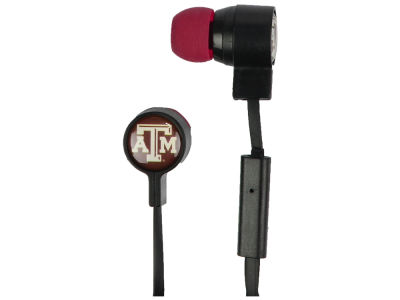 Texas A&M Aggies Mizco Big Logo Earbuds