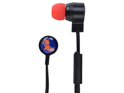 Ole Miss Rebels Big Logo Earbuds
