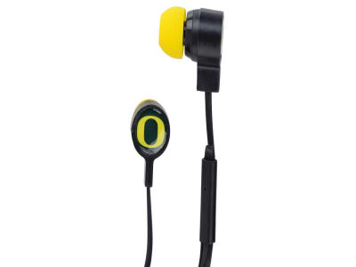 Oregon Ducks Big Logo Earbuds