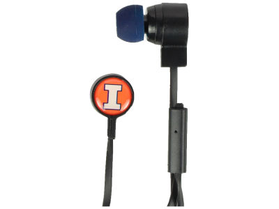 Illinois Fighting Illini Mizco Big Logo Earbuds