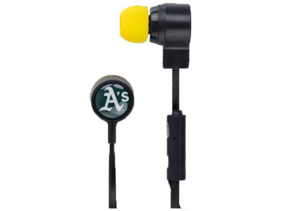 Oakland Athletics Mizco Big Logo Earbuds