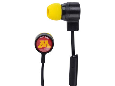 Minnesota Golden Gophers Mizco Big Logo Earbuds