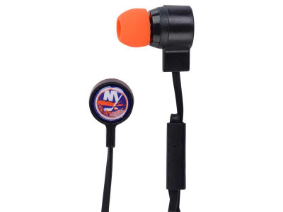 New York Islanders Mizco Big Logo Earbuds