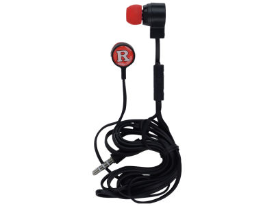 Rutgers Scarlet Knights Big Logo Earbuds