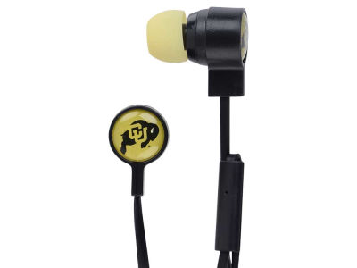 Colorado Buffaloes Big Logo Earbuds