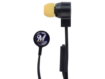 Milwaukee Brewers Mizco Big Logo Earbuds