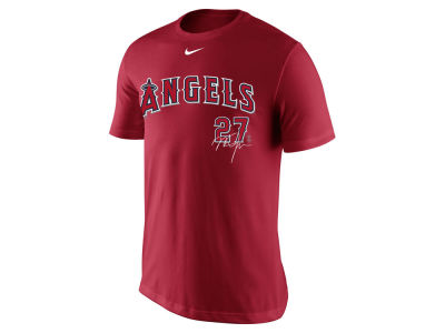 Los Angeles Angels Mike Trout MLB Men's Legend Signature Player T-Shirt