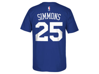 Philadelphia 76ers Ben Simmons adidas NBA Men's Player T-Shirt