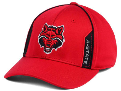 Arkansas State Red Wolves Top of the World NCAA Kayo Stretch Fit Cap