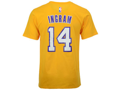 Los Angeles Lakers Brandon Ingram adidas NBA Men's Player T-Shirt