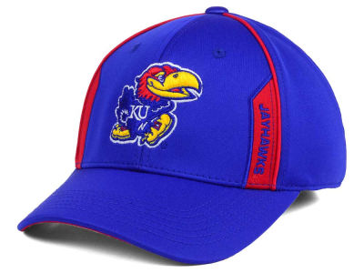 Kansas Jayhawks Top of the World NCAA Kayo Stretch Fit Cap