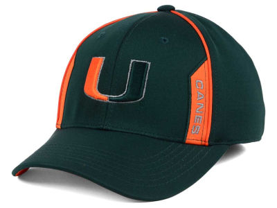 Miami Hurricanes Top of the World NCAA Kayo Stretch Fit Cap