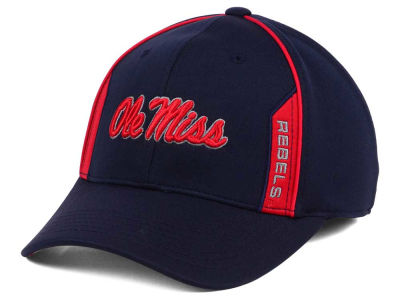 Ole Miss Rebels Top of the World NCAA Kayo Stretch Fit Cap