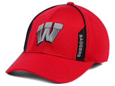 Wisconsin Badgers Top of the World NCAA Kayo Stretch Fit Cap