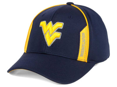West Virginia Mountaineers Top of the World NCAA Kayo Stretch Fit Cap