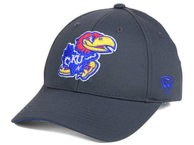 Kansas Jayhawks Top of the World NCAA Fresh 2 Adjustable Cap