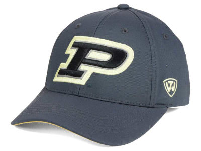Purdue Boilermakers Top of the World NCAA Fresh 2 Adjustable Cap
