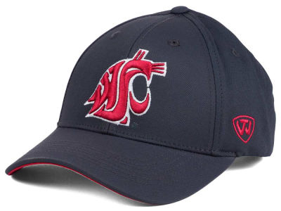 Washington State Cougars Top of the World NCAA Fresh 2 Adjustable Cap
