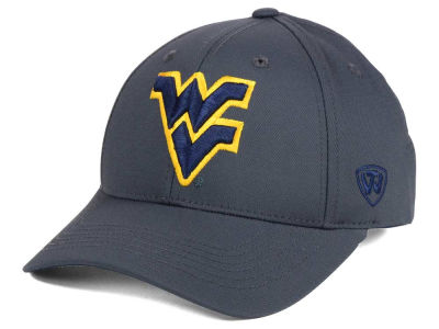 West Virginia Mountaineers Top of the World NCAA Fresh 2 Adjustable Cap