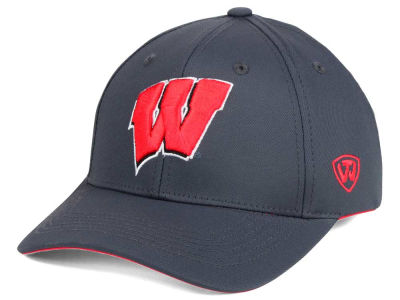 Wisconsin Badgers Top of the World NCAA Fresh 2 Adjustable Cap