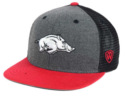 Arkansas Razorbacks Top of the World NCAA Mammoth Snapback Cap